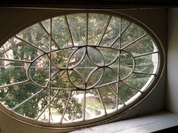 Nathaniel Russell House Oval Window Repair